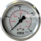 BAUER N3865 Manometer -1 bis 1,5 bar